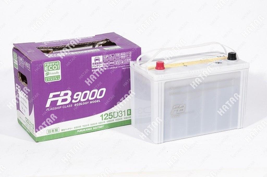 FB Аккумулятор fb9000 ёмкость 92 а/ч, пусковой ток 870а япония