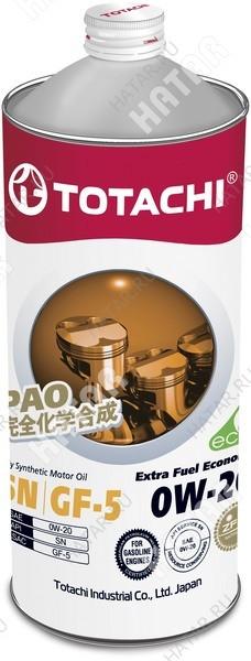 TOTACHI 0w20 extra-fuel масло моторное,синтетика, sn 1л