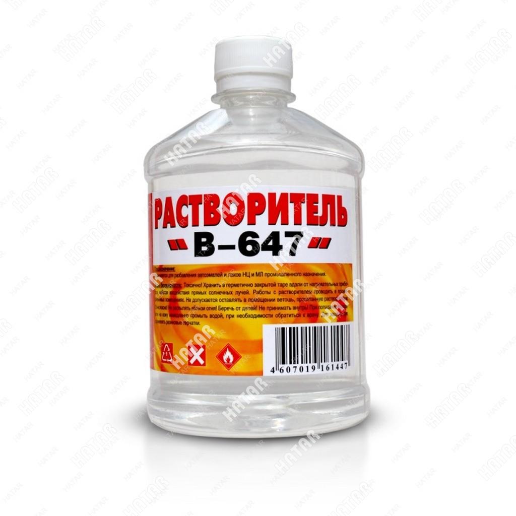 "ВЕРШИНА Растворитель ""вершина"" 647 0,5л пластик бутылка"
