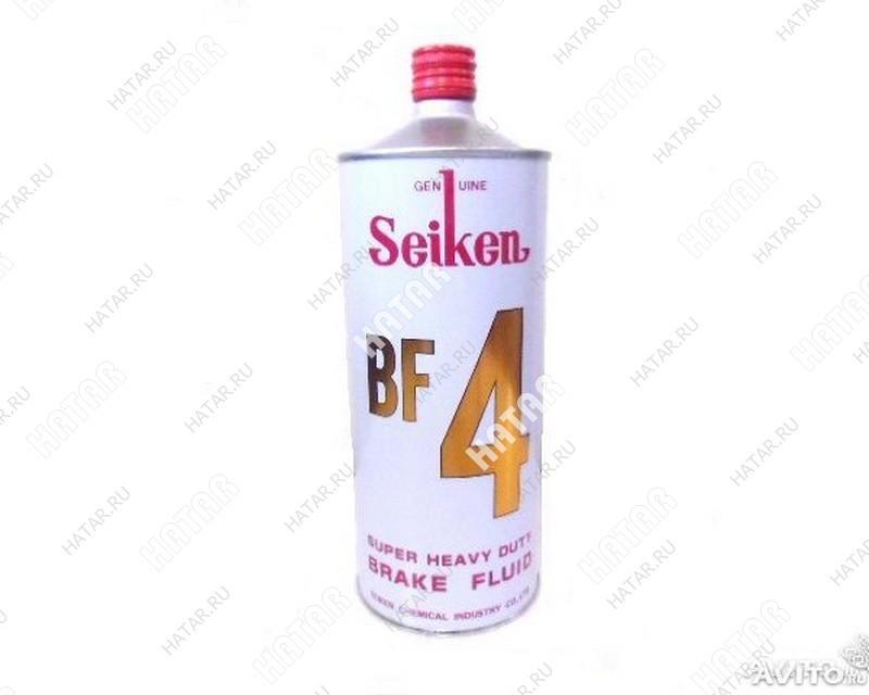 SEIKEN Тормозная жидкость seiken (dot4-u) bf4 1l