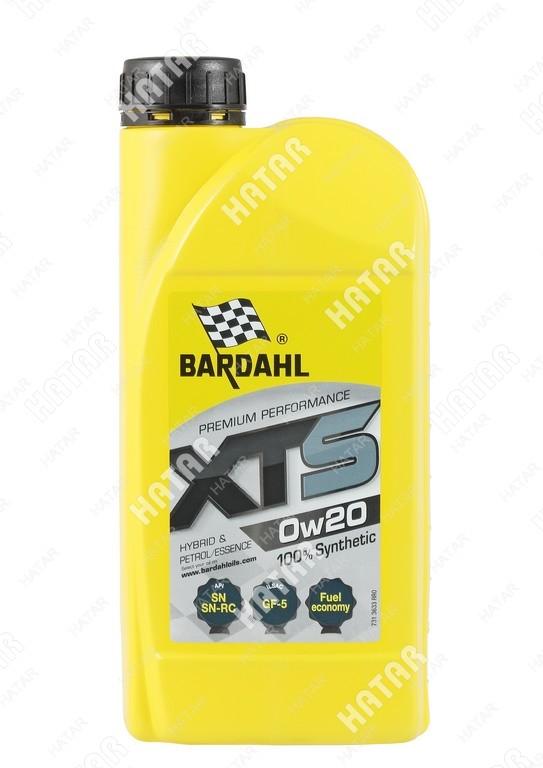 BARDAHL 0w-20 xts cинтетическое моторное масло sn 1л