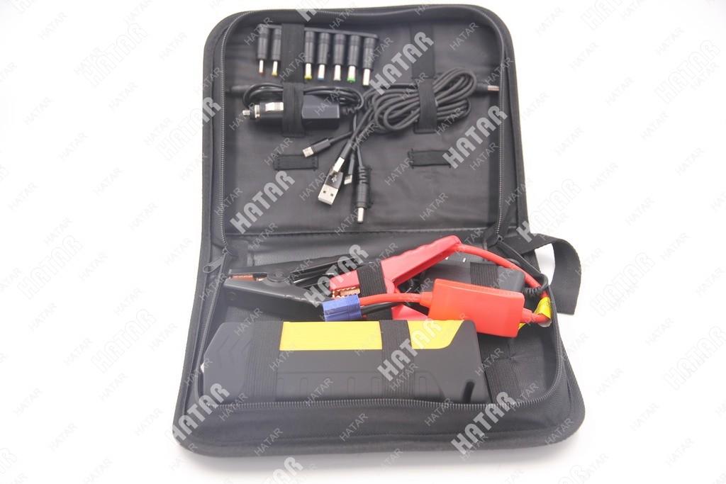 AUTO-EPS Аккумулятор внешний универсальный (емкость 10000mah, пусковой ток 200-400ач:, 2 порта usb 5a=2a, 5v/2.1a 12v/2a, пуск двс)