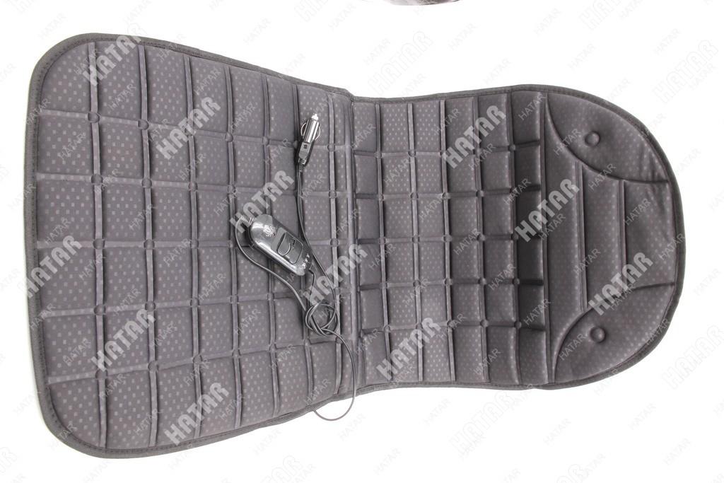 BOOST Накидка с подогревом на переднее сиденье boost 12 v, 1 шт. черная