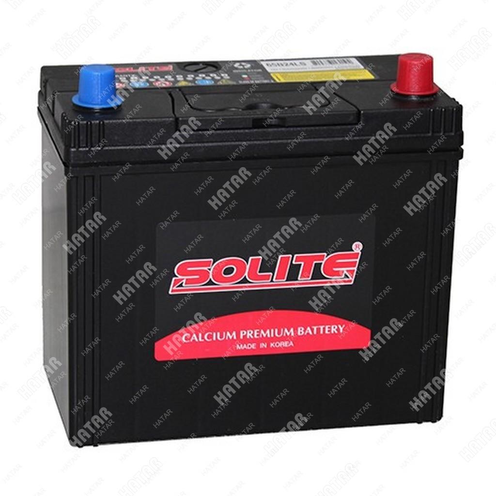 SOLITE Аккумулятор 50ah (большие клеммы)