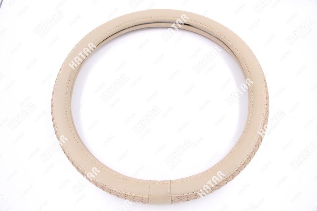 BOOST Оплетка руля бежевый плетеная размер м