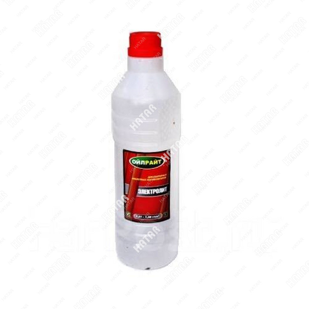 OILRIGHT Электролит кислотный 1,27-1,28 г/куб.см 1л