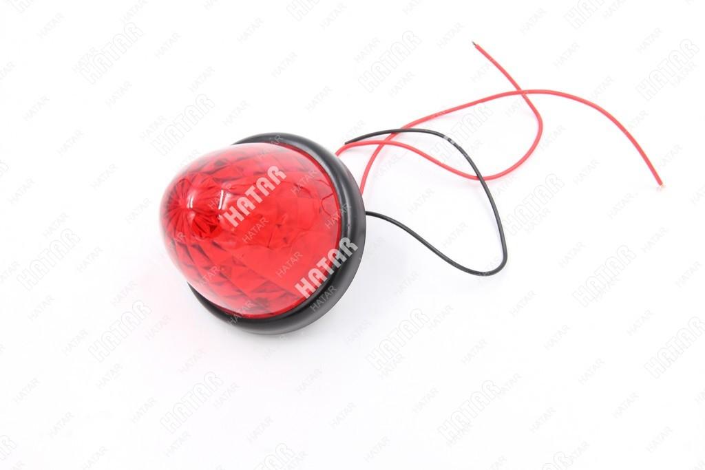 LED Фара габаритная светодиодная красная (подфарник) 3 провода 1шт