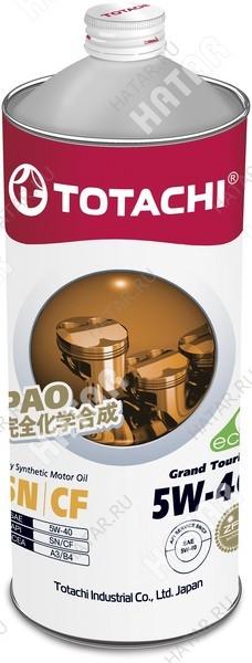 TOTACHI 5w40 grand touring масло моторное,синтетика, sn 1л
