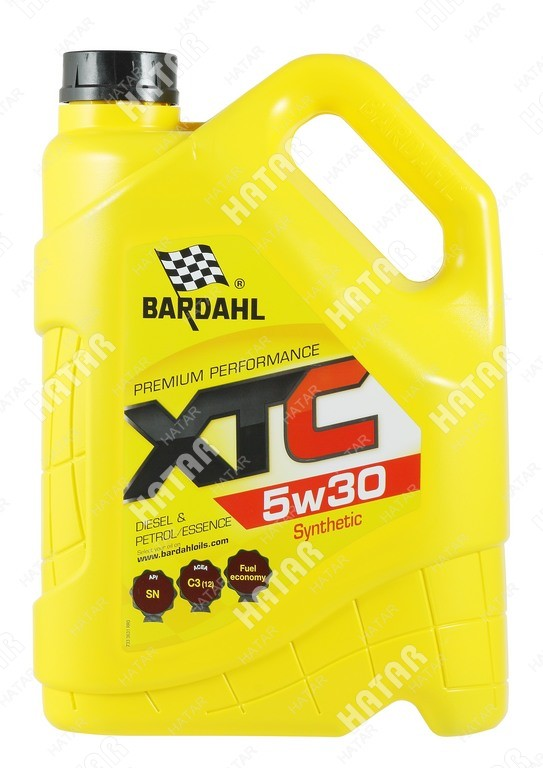 BARDAHL 5w-30 xtc cинтетическое моторное масло sn 4л