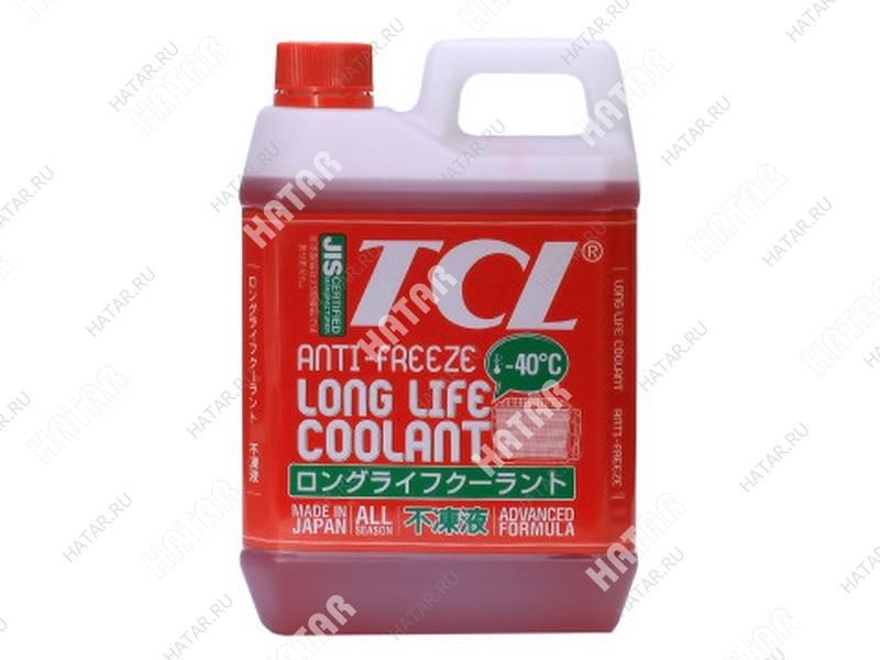 TCL -40 red антифриз 2l
