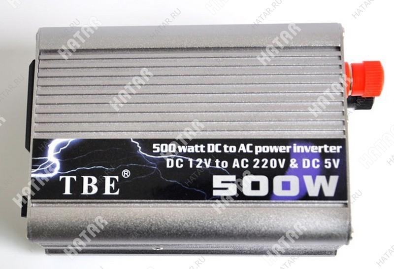 TBE 500w  преобразователь напряжения 12-220v