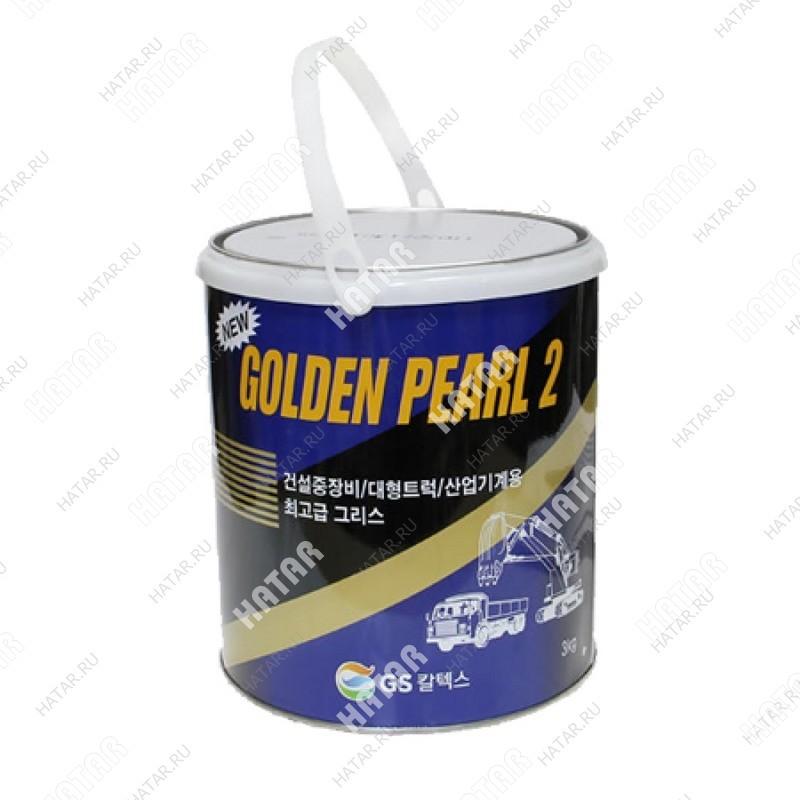 GS KIXX New golden pearl 2 смазка литиевая универсальная 3кг
