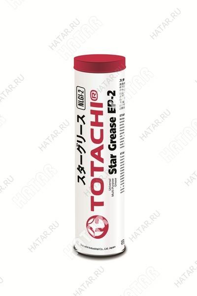 TOTACHI Star grease ep-2 универсальная литиево-комплексная пластичная смазка 397г (red)
