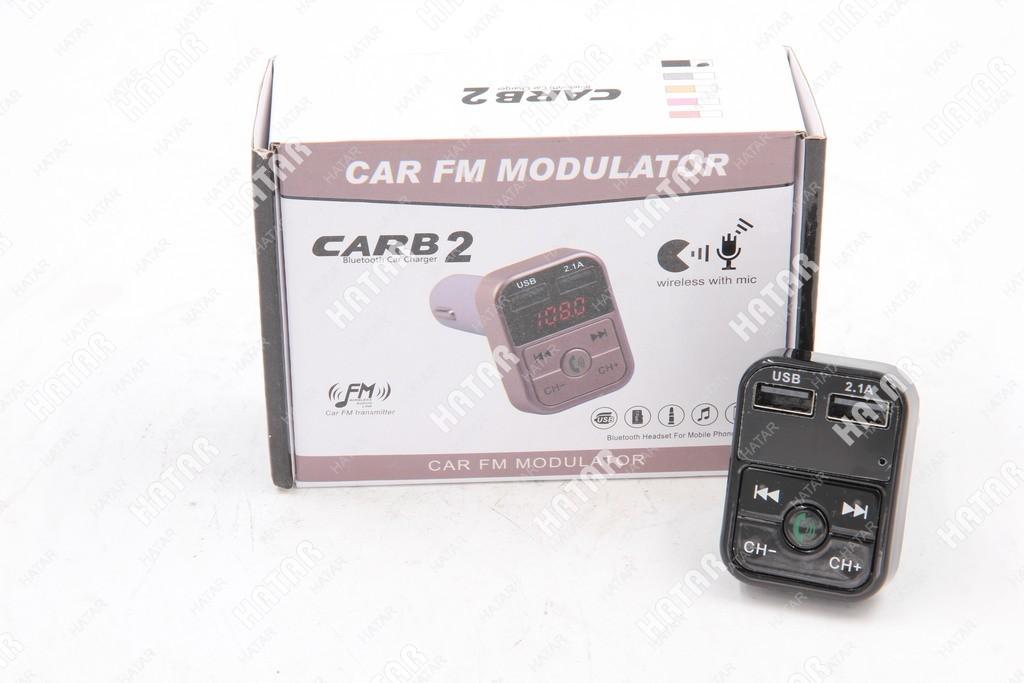DENR Car b2 mp3 fm-модулятор bluetooth черный