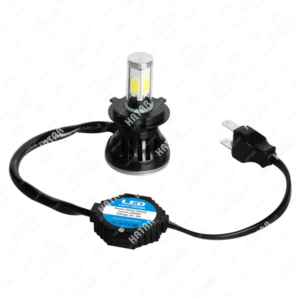 LED HEADLIGHT G5 светодиодные лампы 40w 4000lm 9-36v 2шт