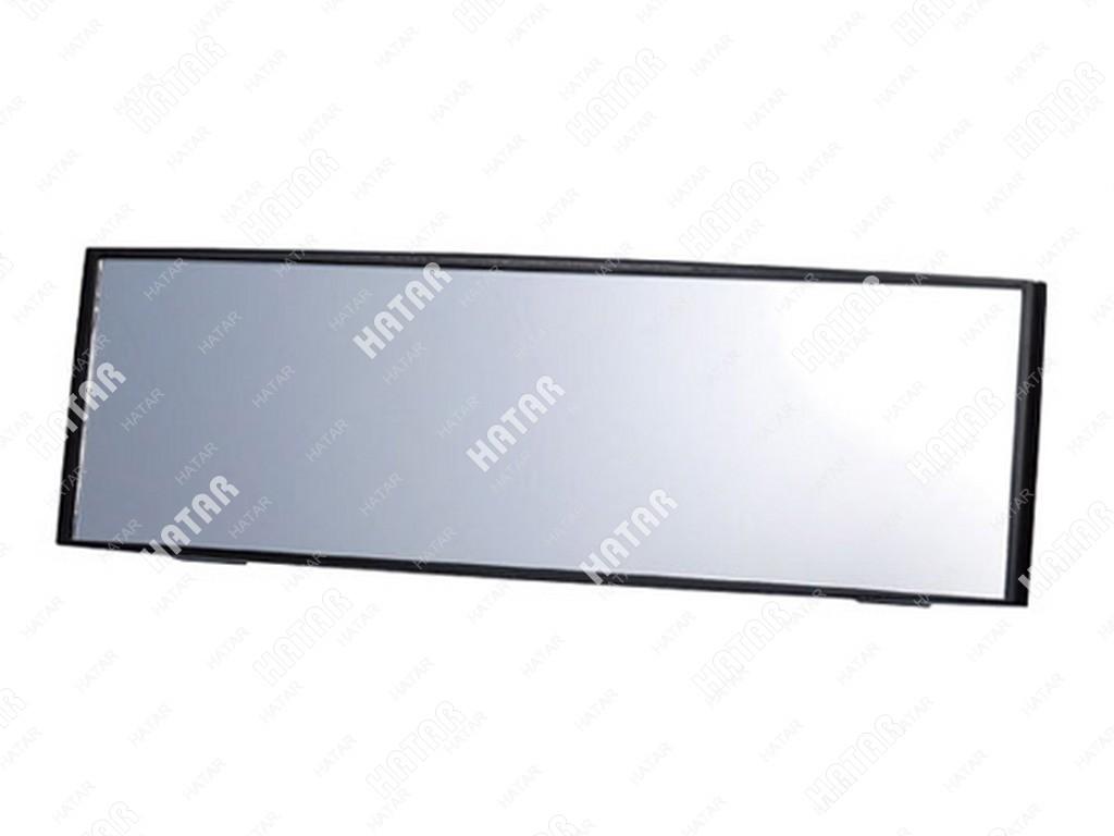 CARMATE Зеркало заднего вида carmate convex mirror, сферическое, 240 мм,черное