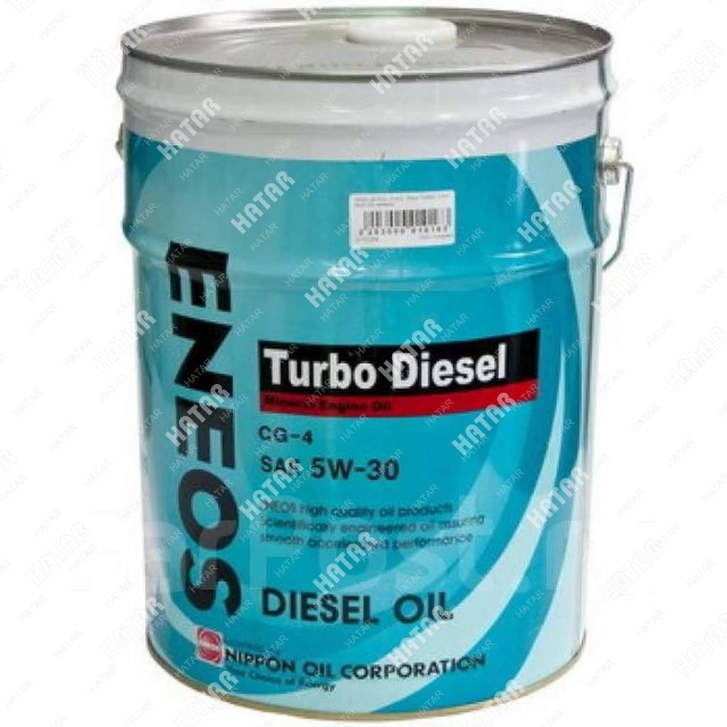 ENEOS 5w30 turbo diesel минеральное моторное масло cg-4 20л