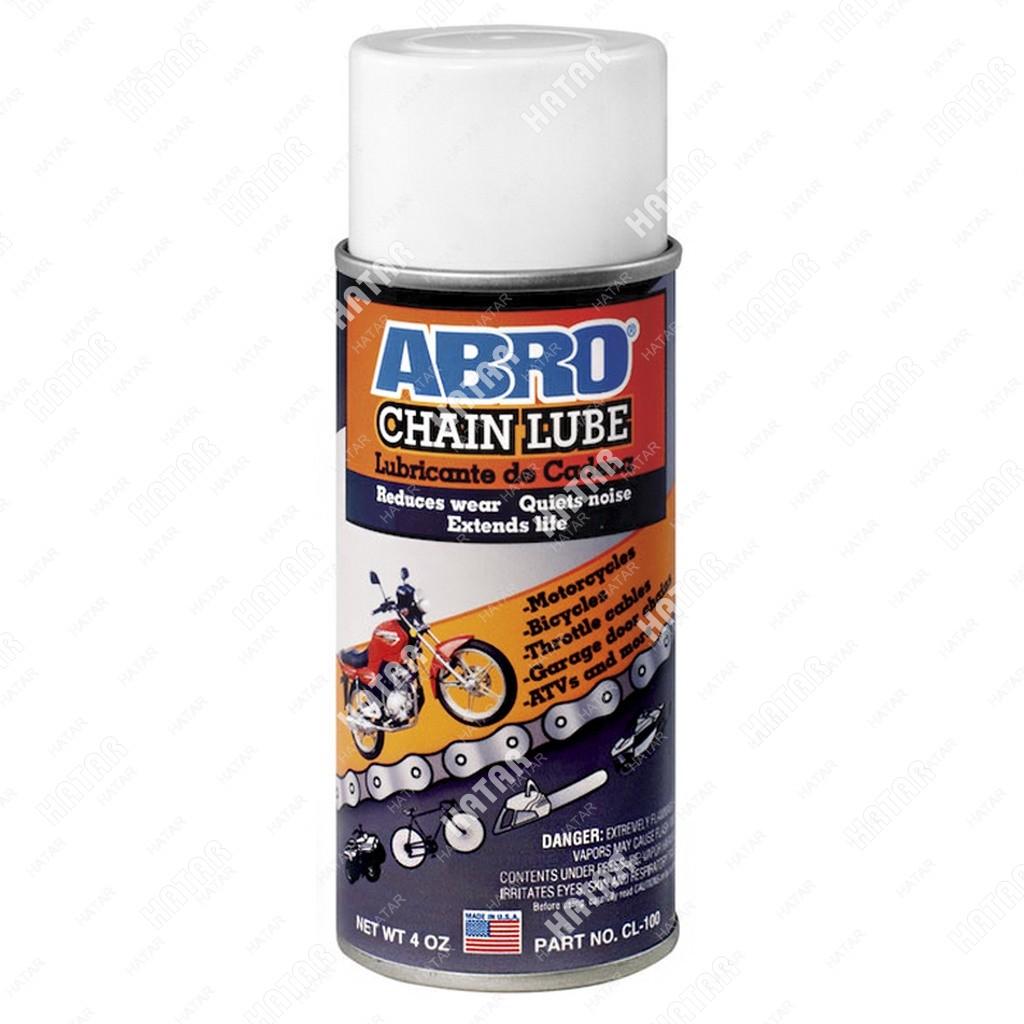 ABRO Смазка для цепей всех видов и тросиков 113г