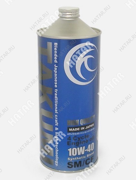TAKUMI 10w40 high quality масло моторное синтетическое sn/cf 1л