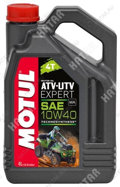 MOTUL 10w40 atv-utv expert 4t моторное масло для мотовездеходов и квадроциклов полусинтетика sm/sl/sj 4л