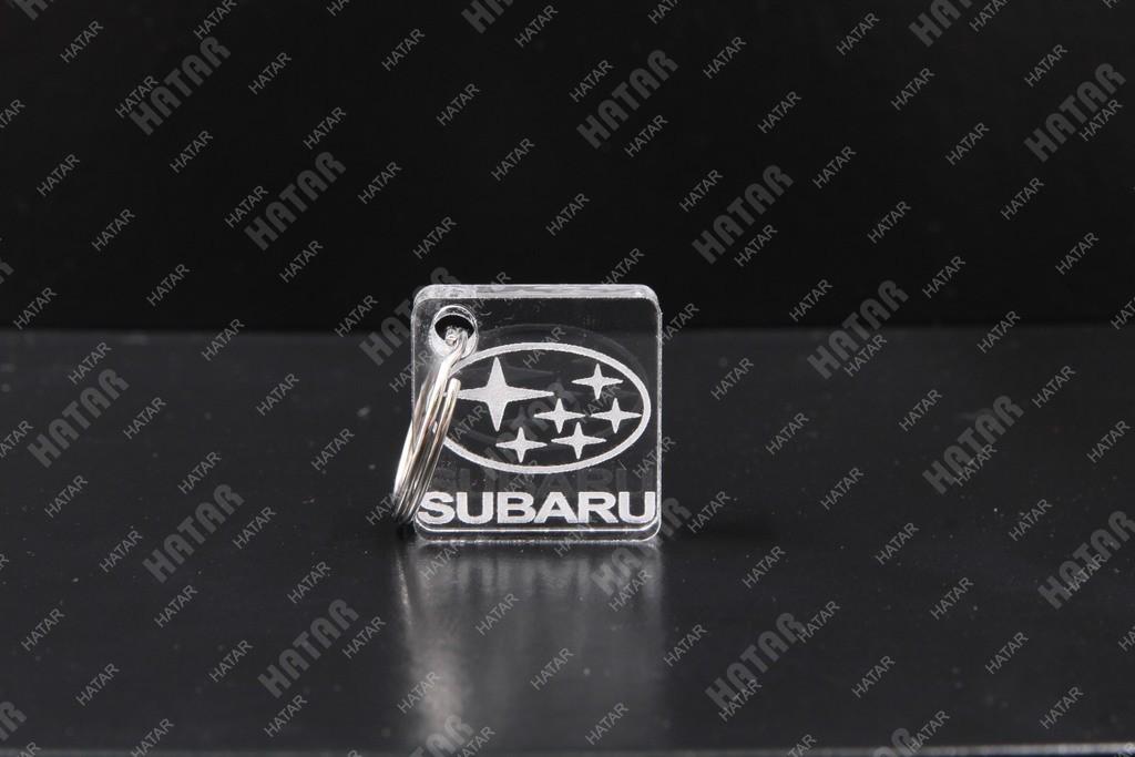 AUTO ACCESSORIES Б4 брелок для ключей subaru plexiglas