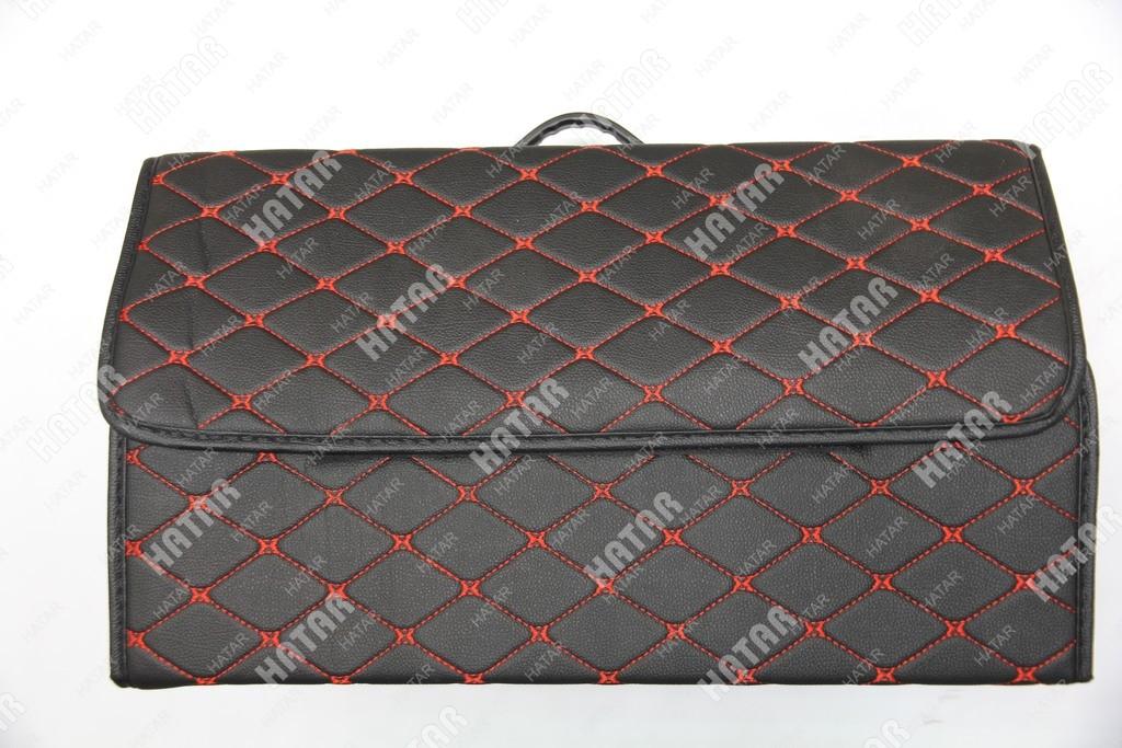 BOOST Кейс в багажник# большой черный/красный