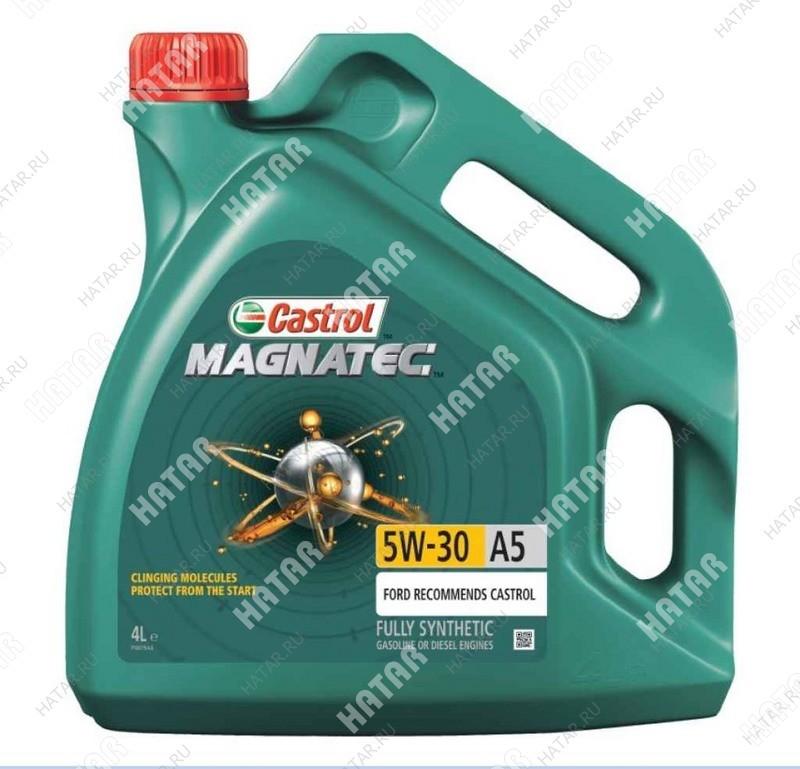 CASTROL Magnatec 5w30 a5 масло моторное синтетика sn/cf 4л