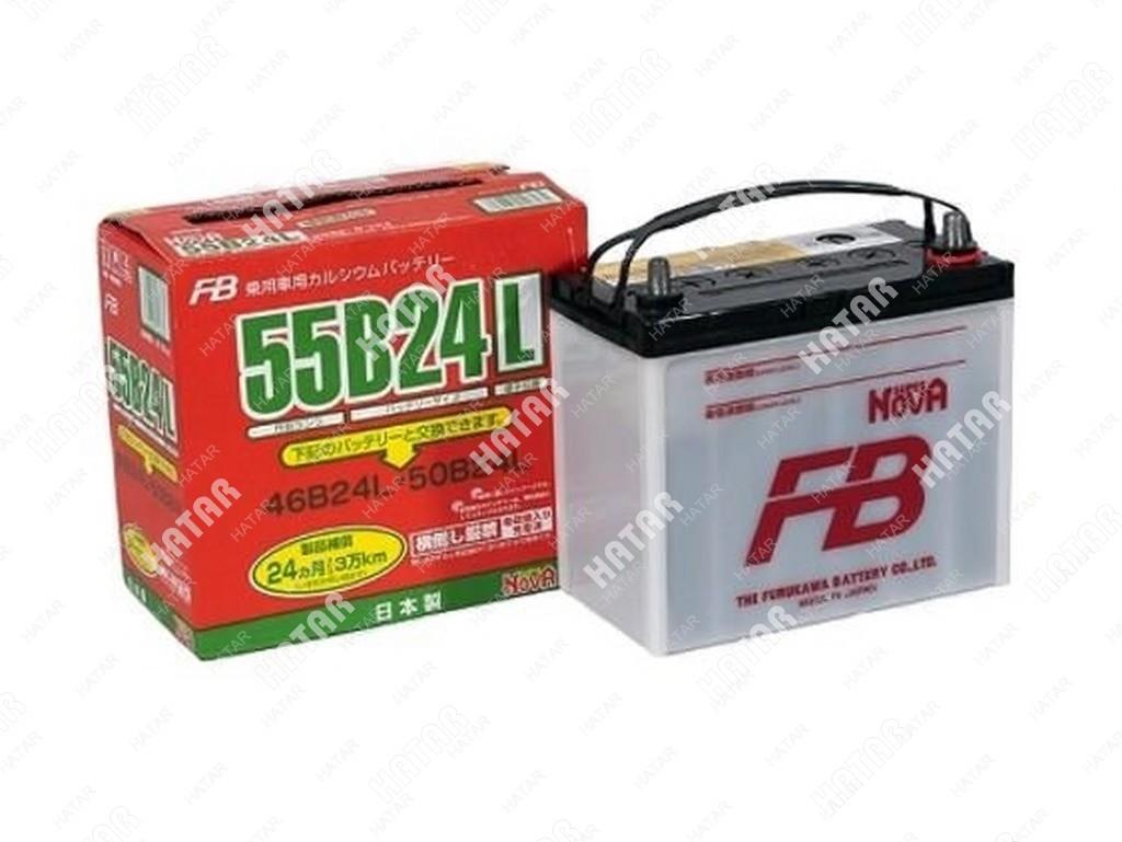 FB Аккумулятор fb super nova япония ёмкость 45 a/ч, пусковой ток 570а  япония