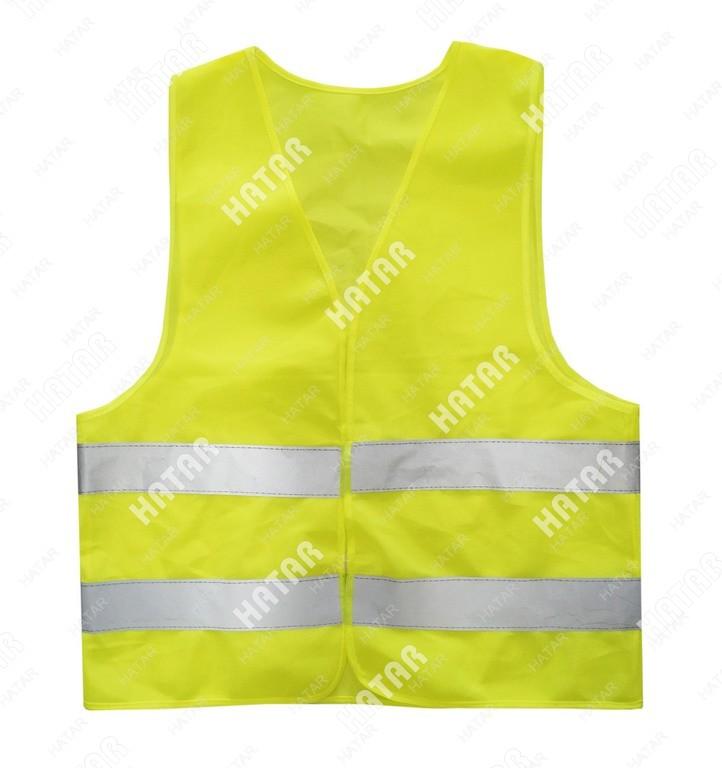 AUTO ACCESSORIES Жилет светоотражающий для водителя желтый размер s/м