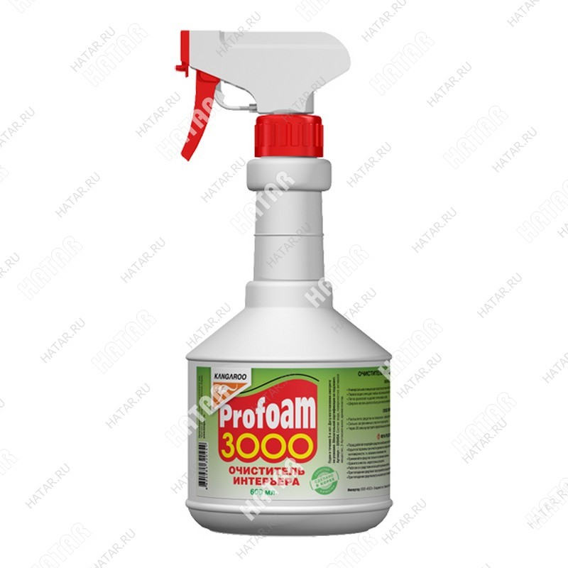 KANGAROO Очиститель интерьера profoam 3000, 600мл