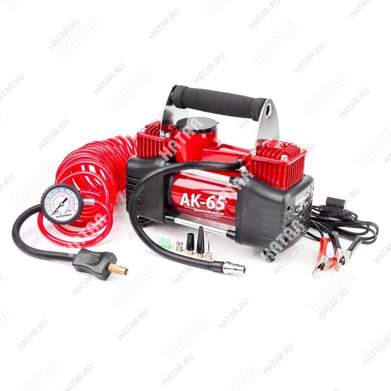 AUTOPROFI Ак компрессор автомобильный ак, металлический, 12v, 150w, производ-сть 35 л./мин., сумка,