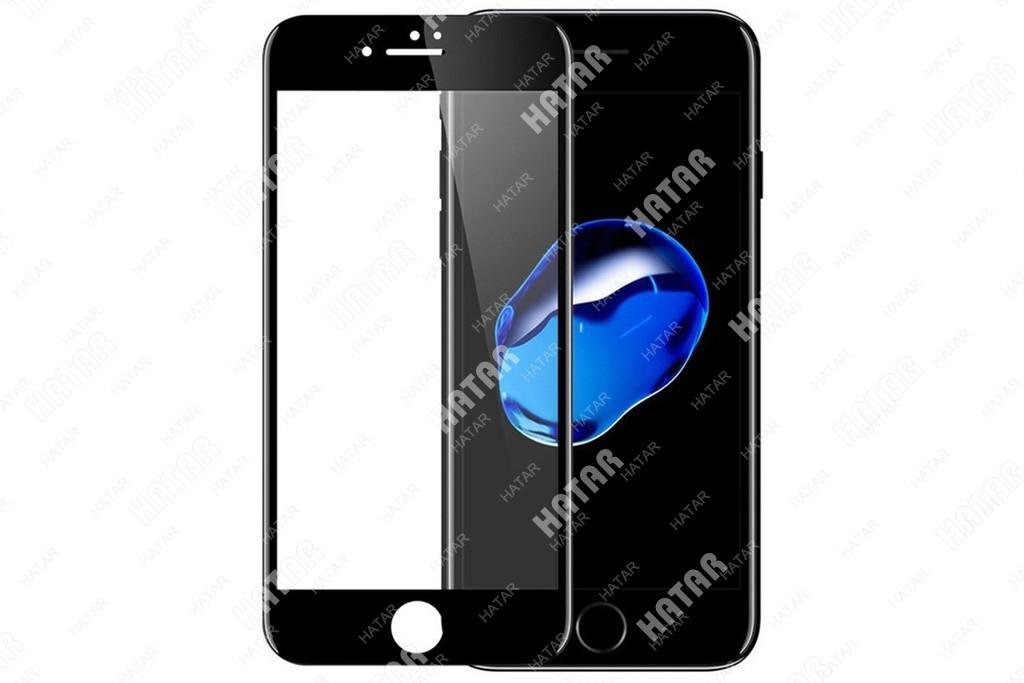APPLE Стекло защитное 5d для apple iphone 7/8 черное
