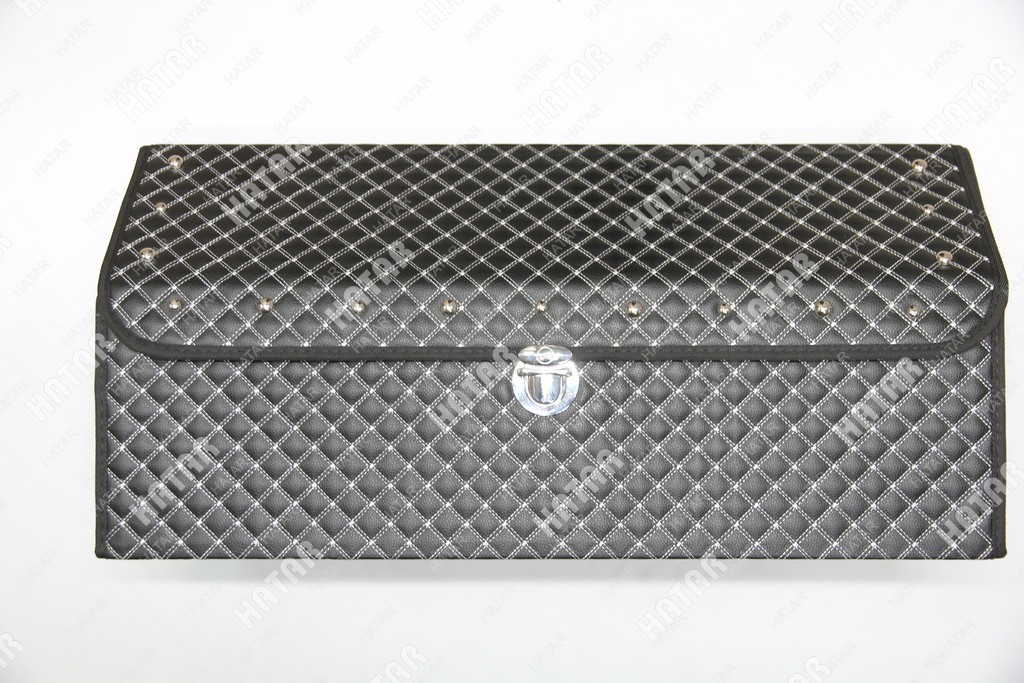 BOOST Кейс в багажник большой черный/белый