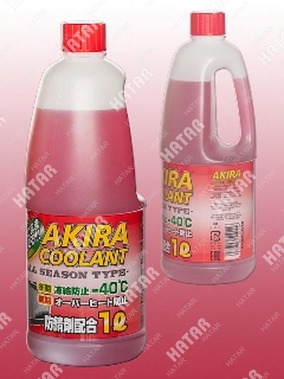 AKIRA Антифриз coolant red -40 красный 1л