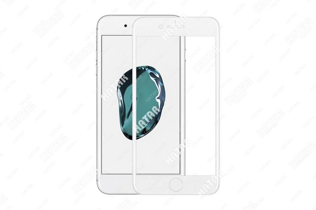 APPLE Стекло защитное 4d для apple iphone 7/8 белое