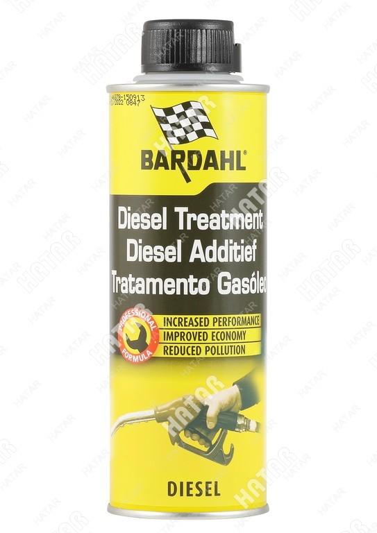 BARDAHL Diesel treatment присадка в дизельное топливо 0,3л