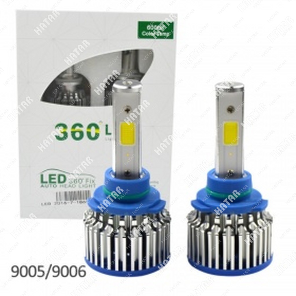 360*LIGHT Светодиодная лампа  2шт