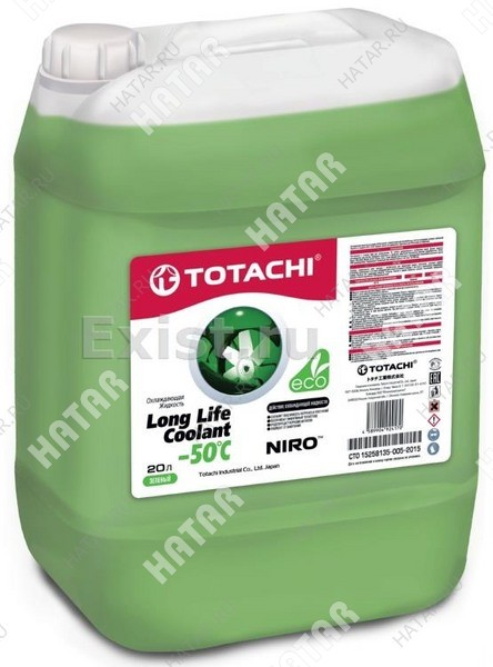 TOTACHI Super llc green -40 антифриз зеленый  20л