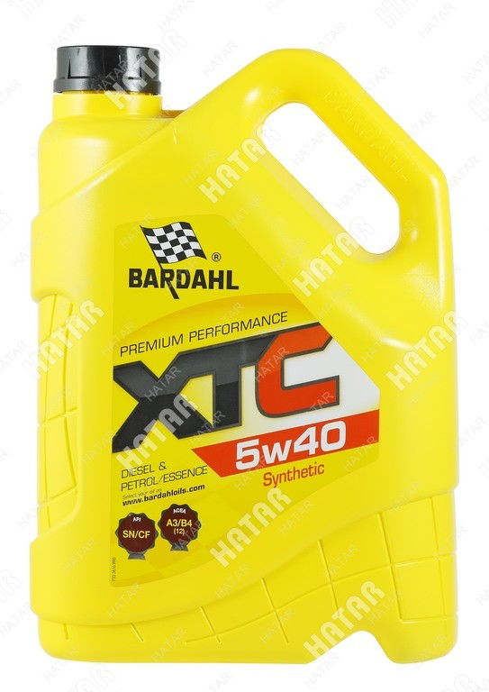 BARDAHL 5w-40 xtc cинтетическое моторное масло sn/cf 5л