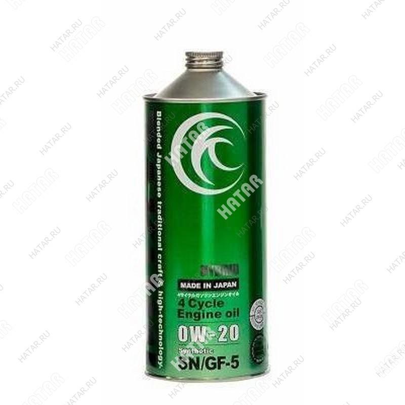 TAKUMI 0w20 hybrid моторное масло синтетика sn/gf5 1л