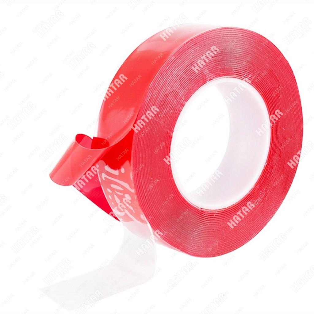 3M Лента клейкая двусторонняя силиконовая 18 мм / 3m