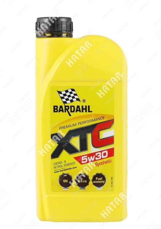 BARDAHL 5w-30 xtc cинтетическое моторное масло sn 1л