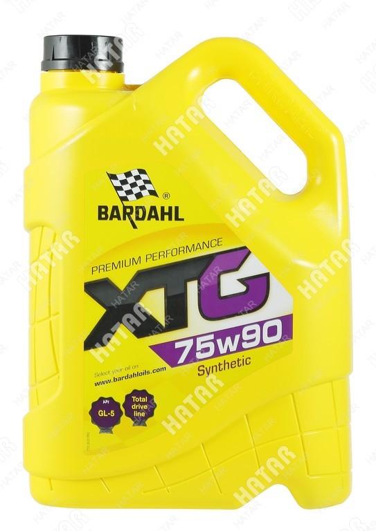 BARDAHL 75w-90 xtg трансмиссионоое масло синтетика gl4/5 5л