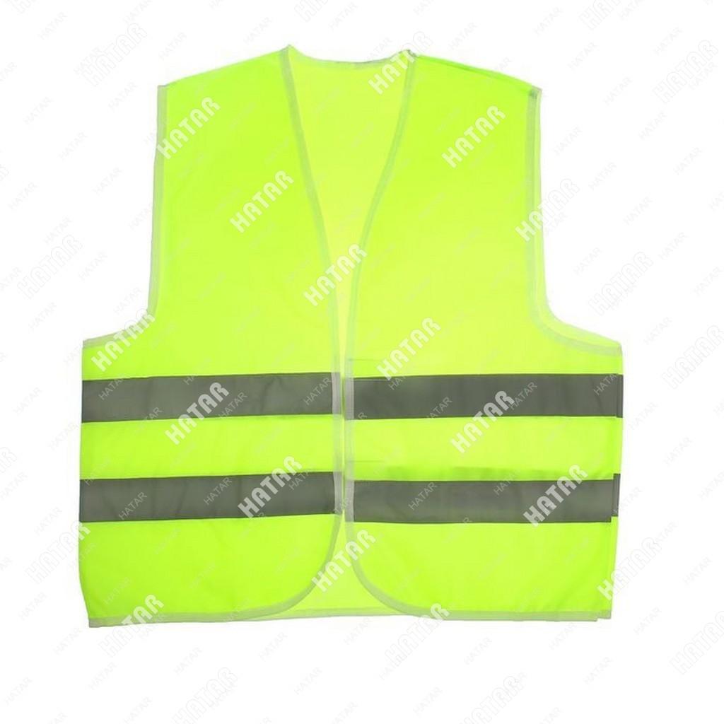 AUTO ACCESSORIES Жилет светоотражающий для водителя зеленый размер l/xl