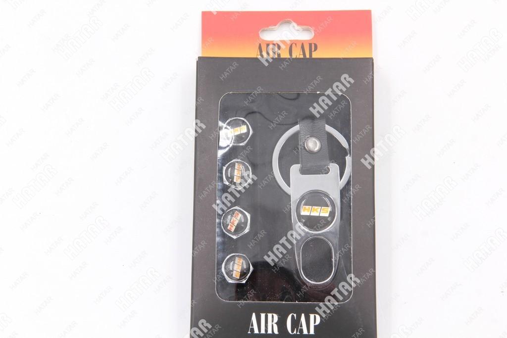 AIR CAP Колпачки на ниппель hks набор 4шт