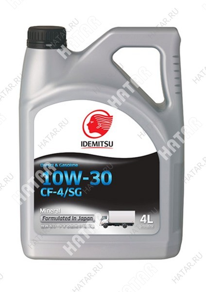 IDEMITSU Diesel 10w30 масло моторное cf-4/sg 4л