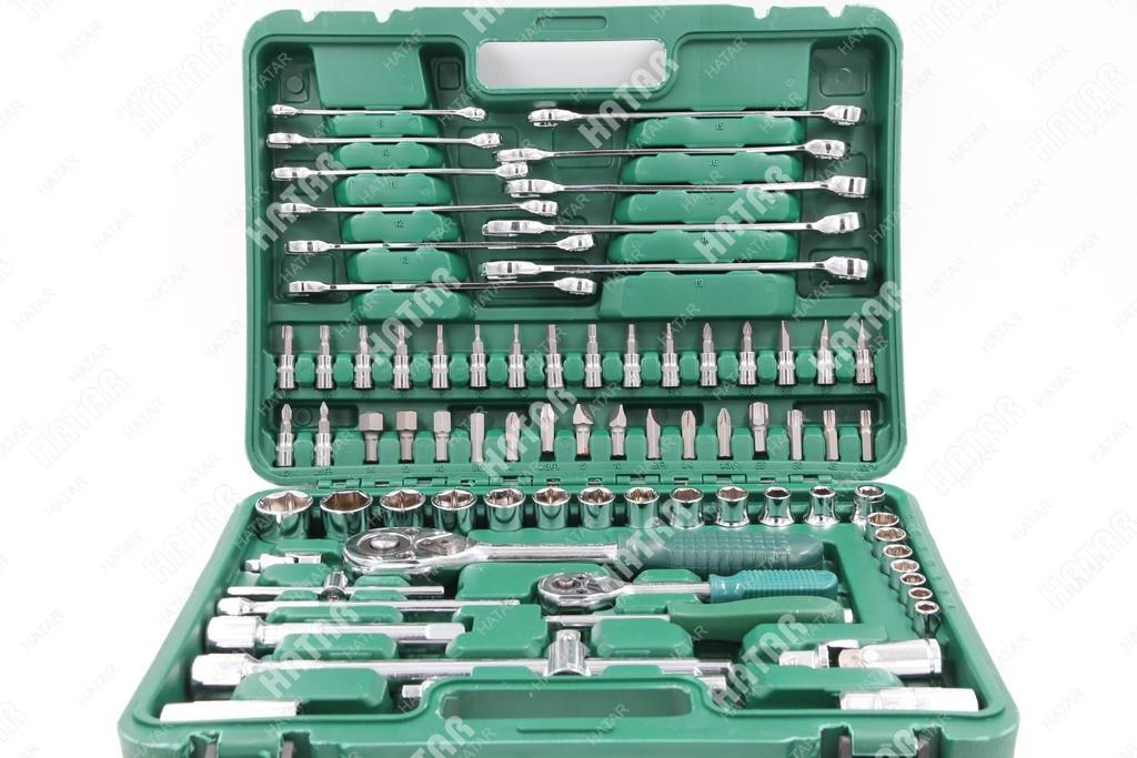 BOOST Набор инструментов универсальный 78 предметов (пластиковый кейс)