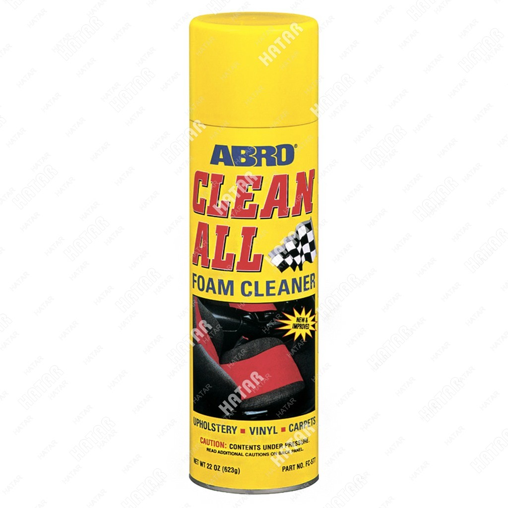 ABRO Очиститель пенный универсальный clean all 623г