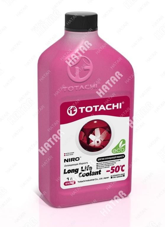 TOTACHI Super llc red -50 антифриз красный  1л