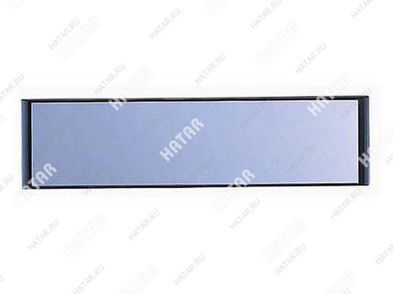 CARMATE Зеркало заднего вида rear view mirror flat, плоское, 290 мм, черное